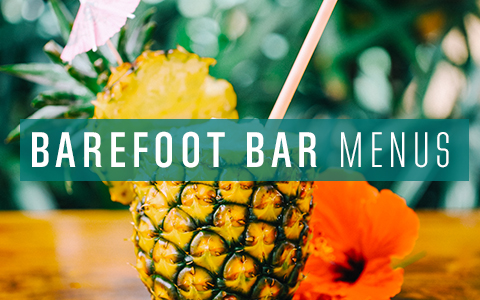 Barefoot Bar Menu Tile